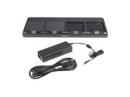 Honeywell 4-Slot Battery Charging Kit w  Power Supply, Power Cord, CT50-QBC-1, 30357748, Battery Chargers