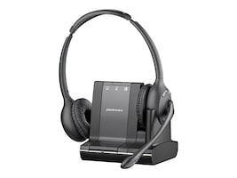 Plantronics Savi W720 Over-the-Head Binuaral Wireless Headset System, 83544-01, 13014541, Headsets (w/ microphone)