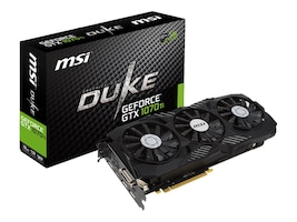 MSI Computer GTX 1070 TI DUKE 8G Main Image from Right-angle