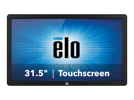 ELO Touch Solutions 31.5 3202L Full HD LED-LCD IR Touchscreen Display, Black, E222368, 31936899, Monitors - Large Format - Touchscreen/POS