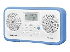 Sangean AM FM Stereo Digital Portable Radio - Blue, PR-D19BU, 34966014, Clock Radios