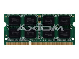 Axiom 8GB PC3-10600 204-pin DDR3 SDRAM SODIMM Kit for Select iMac, Mac Mini, MacBook Pro Models, MC702G/A-AX, 13555110, Memory
