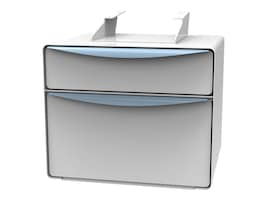 Dual 3 Drawers and 7 Drawer, Non-Locking, 72-0520, 32461856, Cart & Wall Station Accessories