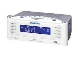 Sangean AM FM Aux Atomic Clock Radio, RCR-22, 8491107, Portable Stereos