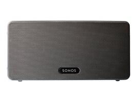 Sonos Sonos Play:3 Black Wireless Speaker System, PLAY3US1BLK, 32656080, Speakers - Audio
