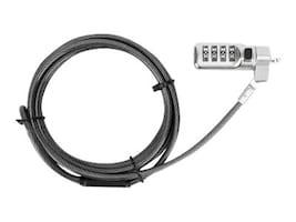 Targus DEFCON COMPACT SERIALIZED COMBOPERPBLACK, ASP71GLX-S, 35884782, Locks & Security Hardware