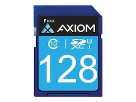 Axiom 128GB SDXC (UHS-I U3) Flash Memory Card, Class 10, SDXC10U3128-AX, 34889485, Memory - Flash