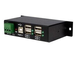 StarTech.com 4-Port Rail Mountable Rugged Industrial Hi-Speed USB Hub, ST4200USBM, 9075607, USB & Firewire Hubs