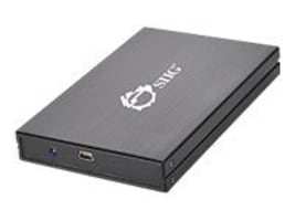 Siig 2.5 USB 2.0 to SATA Enclosure for USB-Enabled PC, JU-SA0C12-S1, 12421347, Hard Drive Enclosures - Single