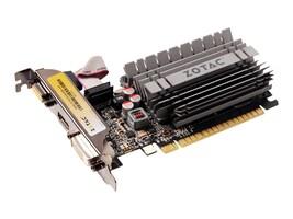 Zotac GeForce GT 730 PCIe 2.0 x16 Graphics Card, 4GB DDR3, ZT-71115-20L, 18404847, Graphics/Video Accelerators