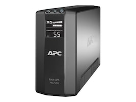 APC Back-UPS Pro Power-Saving Back-UPS 550VA 330W 230V Int'l C14 Input (6) C13 Outlets, BR550GI, 10679571, Battery Backup/UPS