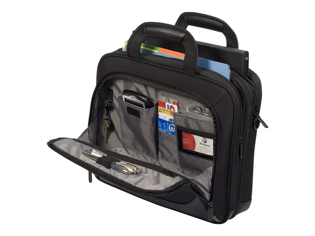 Targus Checkpoint-Friendly 15.4 Mobile Elite Laptop Case, Black, TBT045US, 9125694, Carrying Cases - Notebook