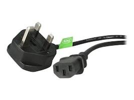 StarTech.com Standard UK Computer Power Cord, 6ft, PXT101UK, 10070811, Power Cords