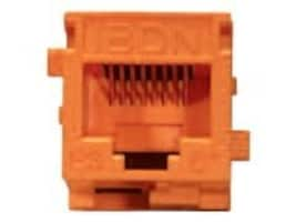 Belden CAT6+ Modular Jack KeyConnect Style, Yellow, AX101324, 33025204, Cable Accessories