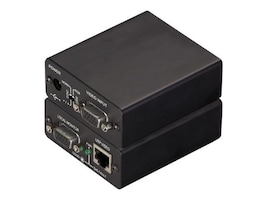 Black Box Mini Cat5 VGA Extender Transmitter w Local Port, AC603A, 9463335, Switch Boxes