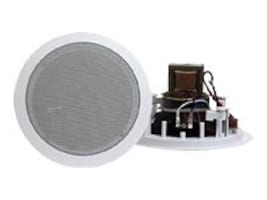 Pyle 8 Criling Speaker Pair w  70V Transformer, PDIC80T, 34124263, Speakers - Audio