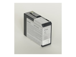 Epson 80 ml Light Black UltraChrome K3 Ink Cartridge for Stylus Pro 3800 3800 Professional Edition, T580700, 7159647, Ink Cartridges & Ink Refill Kits