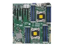 Supermicro Motherboard, X10DRi-T E-ATX C612 LGA 2011 (2x)E5-2600 v3 Family Max.1TB DDR4 10xSATA 6xPCIe 2x10Gb, MBD-X10DRI-T-O, 18315246, Motherboards