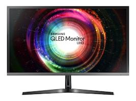 Samsung 27.9 UH750 4K Ultra HD LED-LCD Monitor, Black Gray, LU28H750UQNXZA, 34273841, Monitors