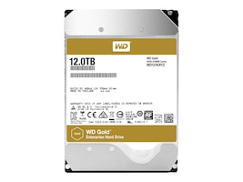WD 12TB WD Gold SATA 6Gb s 3.5 Datacenter Hard Drive, WD121KRYZ, 34540013, Hard Drives - Internal