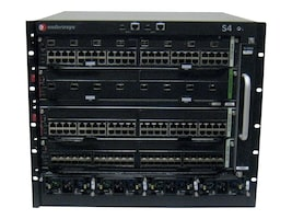 Enterasys S-Series S4 Chassis and Fan Tray (P S Sold Separately), S4-CHASSIS, 9698433, Network Switches