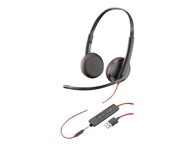 Plantronics BlackWire C3225 USB-A Headset, 209747-22, 35237067, Headsets (w/ microphone)