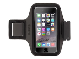 Griffin Trainer Plus for iPhone 6 Plus, Black, GB40012, 32303073, Carrying Cases - Phones/PDAs