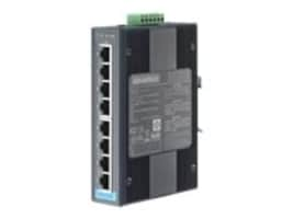 Quatech Advantech EKI-2728I-CE DIN RM WM Unmanaged Switch 8xGbE 1xPSU, EKI-2728I-CE, 34840251, Network Switches