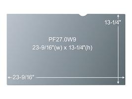3M Privacy Filter for 27 Screen, 16:9 Aspect Ratio, PF27.0W9, 12024149, Glare Filters & Privacy Screens