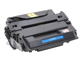 Ereplacements CE255X Black High Yield Toner Cartridge for HP LaserJet P3015, CE255X-ER, 15183049, Toner and Imaging Components