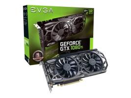 eVGA GeForce GTX 1080 Ti PCIe 3.0 Black Edition Graphics Card, 11GB GDDR5X, 11G-P4-6391-KR, 34311624, Graphics/Video Accelerators