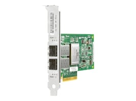 HPE 82Q 8Gb 2-port PCIe Fibre Channel HBA, AJ764SB, 16250215, Host Bus Adapters (HBAs)