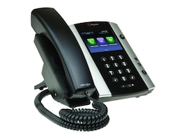 Polycom VVX 501 Business Media Phone, 2200-48500-019, 32223137, VoIP Phones