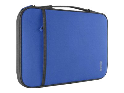 Belkin 11 Sleeve Chromebook, Ultrabook, Macbook Air, Blue, B2B081-C01, 15756011, Carrying Cases - Notebook