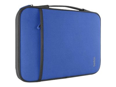 Belkin 11 Sleeve Chromebook, Ultrabook, Macbook Air, Blue, B2B081-C01, 15756011, Carrying Cases - Notebook
