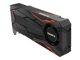 Gigabyte Tech GeForce GTX 1080 Turbo PCIe 3.0 x16 Overclocked Graphics Card, 8GB GDDR5X, GV-N1080TTOC-8GD, 32971493, Graphics/Video Accelerators