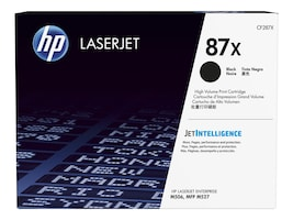 HP 87X (CF287X) High Yield Black Original LaserJet Cartridge w  JetIntelligence for HP LaserJet M506, CF287X, 30673513, Toner and Imaging Components
