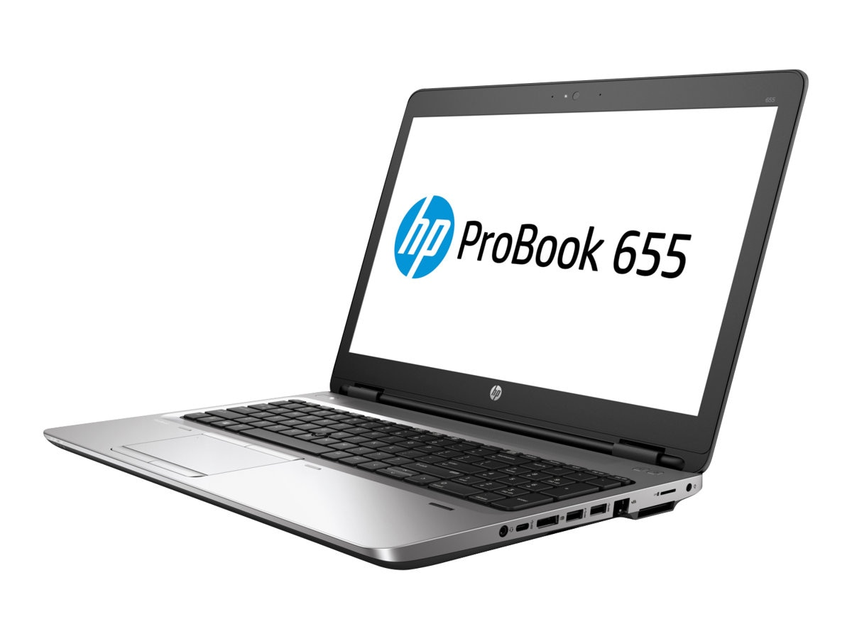 HP ProBook 655 G3 2.4GHz A10 Series 15.6in display, 1BS05UT#ABA, 33656444, Notebooks