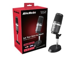 Aver Information AM310 Plug & Play USB Gaming Microphone, AM310, 34510586, Microphones & Accessories
