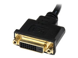 StarTech.com HDMI to DVI-D Video Cable Adapter, HDMI (M) to DVI (F), 8in, HDDVIMF8IN, 14965401, Adapters & Port Converters