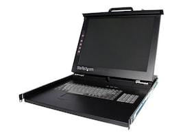 StarTech.com 1U DuraView 19 Folding LCD KVM Rack Console, RACKCONS1901, 7501799, KVM Displays & Accessories