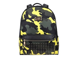 Sandy Lisa Soho Yellow Camo Mini Backpack for Laptops up to 13+Tablet, SLSOH-BPYC-13, 36568562, Carrying Cases - Other