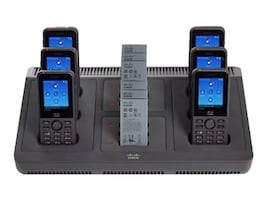 Cisco Wireless IP Phone 8821 and 8821-EX Multi Charger Only, CP-MCHGR-8821=, 34023606, Battery Chargers