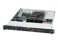 Supermicro CSE-111TQ-600CB Main Image from