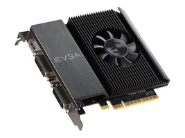 eVGA GeForce GT 710 PCIe Graphics Card, 1GB DDR3, 01G-P3-2716-KR, 31362055, Graphics/Video Accelerators