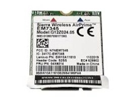 Lenovo ThinkPad EM7345 4G LTE Mobile Broadband WWAN Card, 4XC0F46957, 18769221, Wireless Adapters & NICs