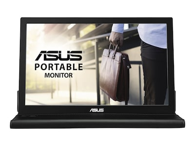 Asus 15.6 MB169B+ Full HD LED-LCD Monitor, Black, MB169B+, 28884717, Monitors