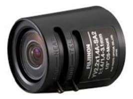 Fujifilm 1 3 1.4-3.1mm CS-Mount Fish-Eye Zoom Lens, 330mm Long Iris Cable, ND Filter, YV2.2X1.4A-SA2L, 7982852, Camera & Camcorder Lenses & Filters