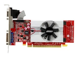 Microstar GeForce GT 610 PCIe 2.0 Low-Profile Graphics Card, 2GB DDR3, N610GT-MD2GD3/LP, 14371380, Graphics/Video Accelerators