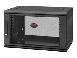 APC NETSHELTER WX 6U SINGLE HINGED RACKWALL-MOUNT ENCLOSURE 400MM DEEP, AR106SH4, 37732192, Rack Mount Accessories
